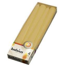 Bolsius Dinner Candle świeca szpica 245/24 mm 2 szt - Żółty