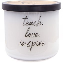 Colonial Candle Luxe large soy scented candle 3 wicks 14.5 oz 411 g - Teach Love Inspire