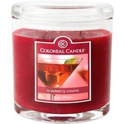 Colonial Candle medium scented oval jar candle 8 oz 226 g - Cranberry Cosmo