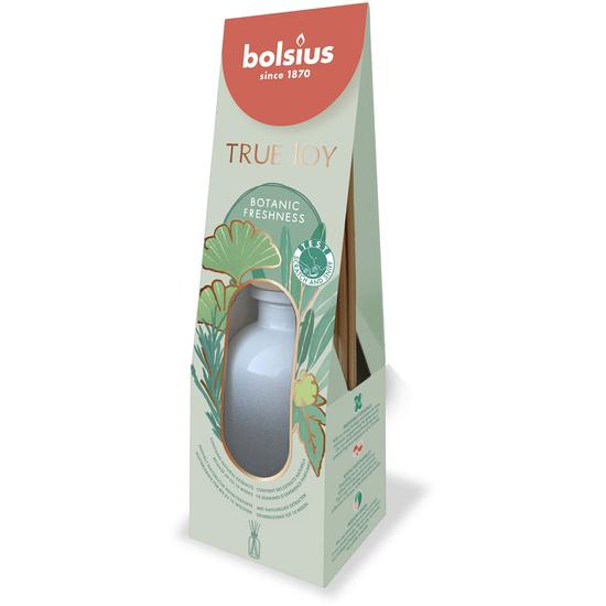 Bolsius aroma diffuser sticks 80 ml True Joy in glass - Botanic Freshness