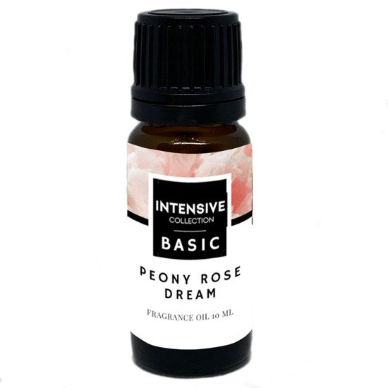 Intensive Collection Amber Basic fragrance oil in natural glass bottle 10 ml - Peony Rose Dream