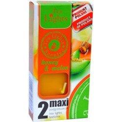 Admit Scented Maxilights podgrzewacze zapachowe typu maxi 59 mm ~ 10 h 2 szt - Honey & Melon