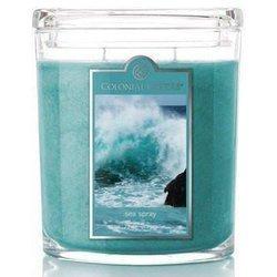 Colonial Candle duża świeca zapachowa w owalnym szkle 22 oz 623 g - Sea Spray