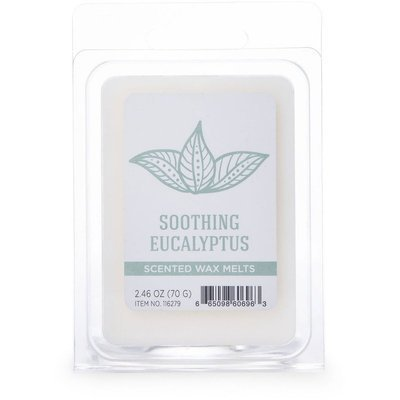 Colonial Candle wosk zapachowy sojowy Wellness 2.46 oz 70 g - Soothing Eucalyptus