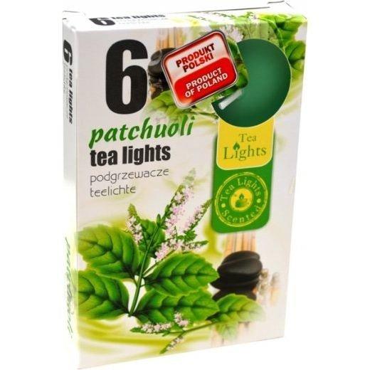 Admit Scented Tealights podgrzewacze zapachowe 6 szt - Patchouli