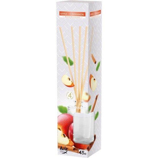 Bispol dyfuzor zapachowy patyczki zapach do domu 45 ml - Apple Cinnamon Jabłko Cynamon
