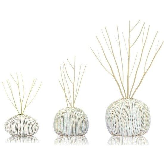 BsaB Luxury Ceramic Diffuser Set zestaw trzech luksusowych ceramicznych dyfuzorów zapachowych 240 ml - Tranquility