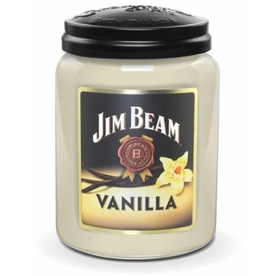 Candleberry Jim Beam duża świeca zapachowa w szkle 570 g - Jim Beam Vanilla®