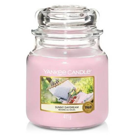 Yankee Candle średnia świeca zapachowa w szklanym słoju 14,5 oz 411 g - Sunny Daydream